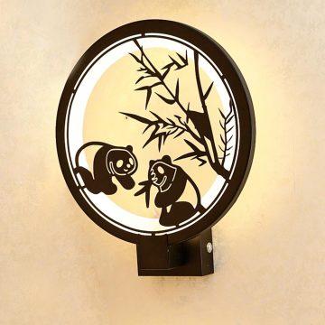 Đèn treo tường LED tròn hình con gấu trúc Venus VRB103