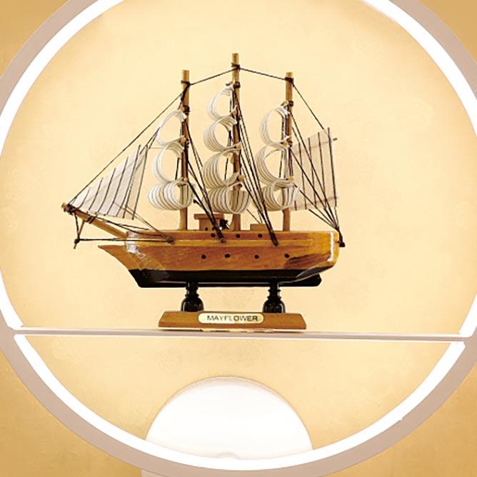 Đèn treo tường LED tròn hình tàu ra khơi Venus VR6039
