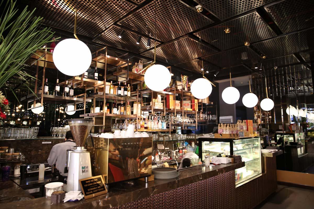 quán cafe Terrace đẹp nhất Takashimaya