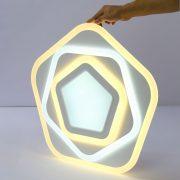Đèn ốp trần led hình kim cương