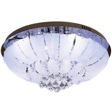 Đèn ốp trần pha lê đổi màu mâm tròn 600mm Venus KD949/13