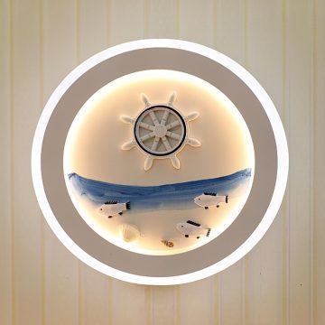 Đèn treo tường LED tròn đại dương xanh Venus VR3194/2