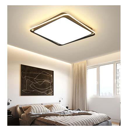 đèn ốp trần led hình vuông