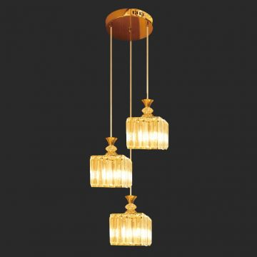 Đèn thả pha lê 3 bóng LED Venus CR3485/3