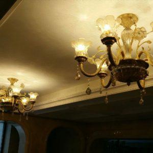 đèn chùm đồng đẹp