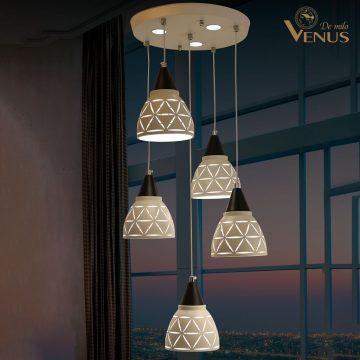 Đèn thả treo 5 bóng Venus VR5175/5