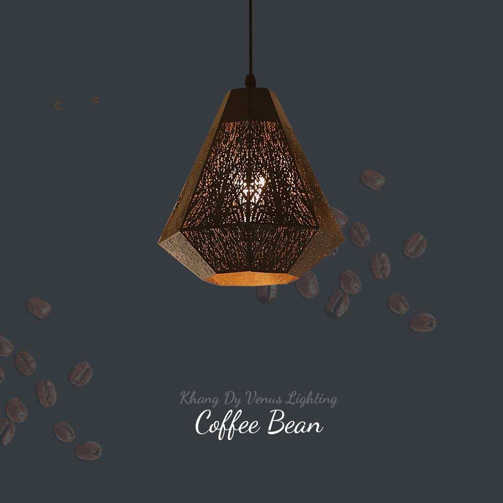 đèn thả màu cà phê