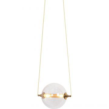 Đèn thả trần thủy tinh quả cầu trong suốt hiện đại Venus MD0085-1