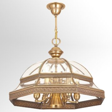Đèn thả đồng phong cách châu Âu cao cấp Venus 100005-07 7 Bóng