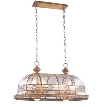 Đèn thả đồng cho phòng khách nhỏ Venus 100022-14 14 Bóng