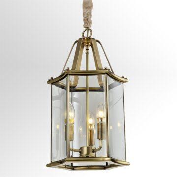 Đèn thả đồng mái vòm căn hộ cao cấp Venus 100023-03 3 Bóng