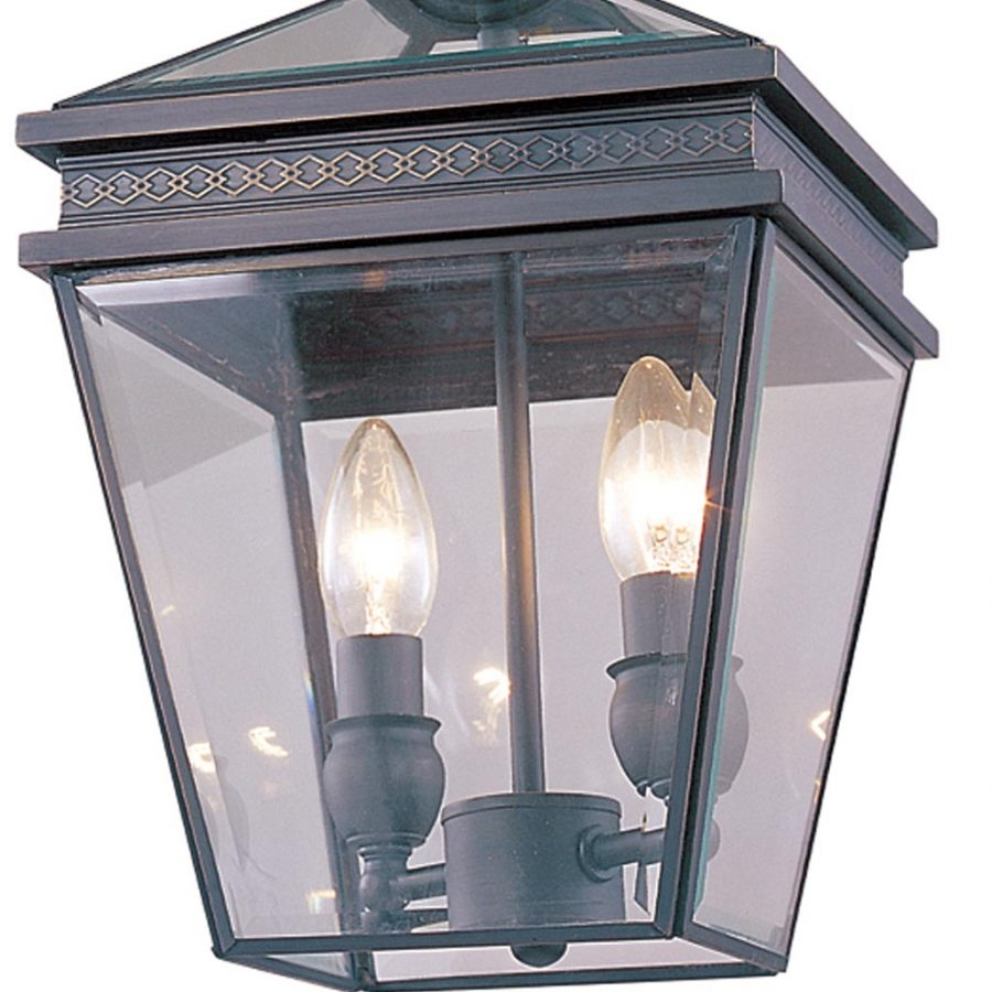 Đèn thả trần phòng khách bằng đồng kiểu lồng nhỏ gọn Venus 100031-02 2 Bóng