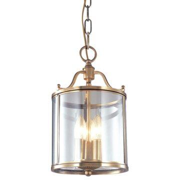 Đèn thả trần phòng khách bằng đồng hoàng gia Venus 100036-03 3 Bóng