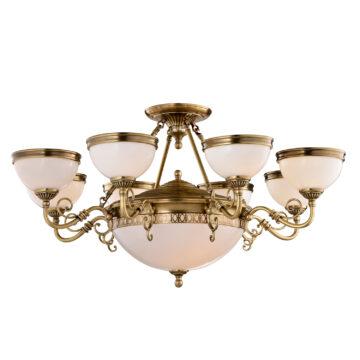 Đèn Chùm Đồng Kiểu Italia Cổ điển Venus 100267-12 12 tay bóng nến