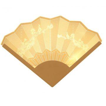 Đèn tường LED trang trí hình cây quạt Venus