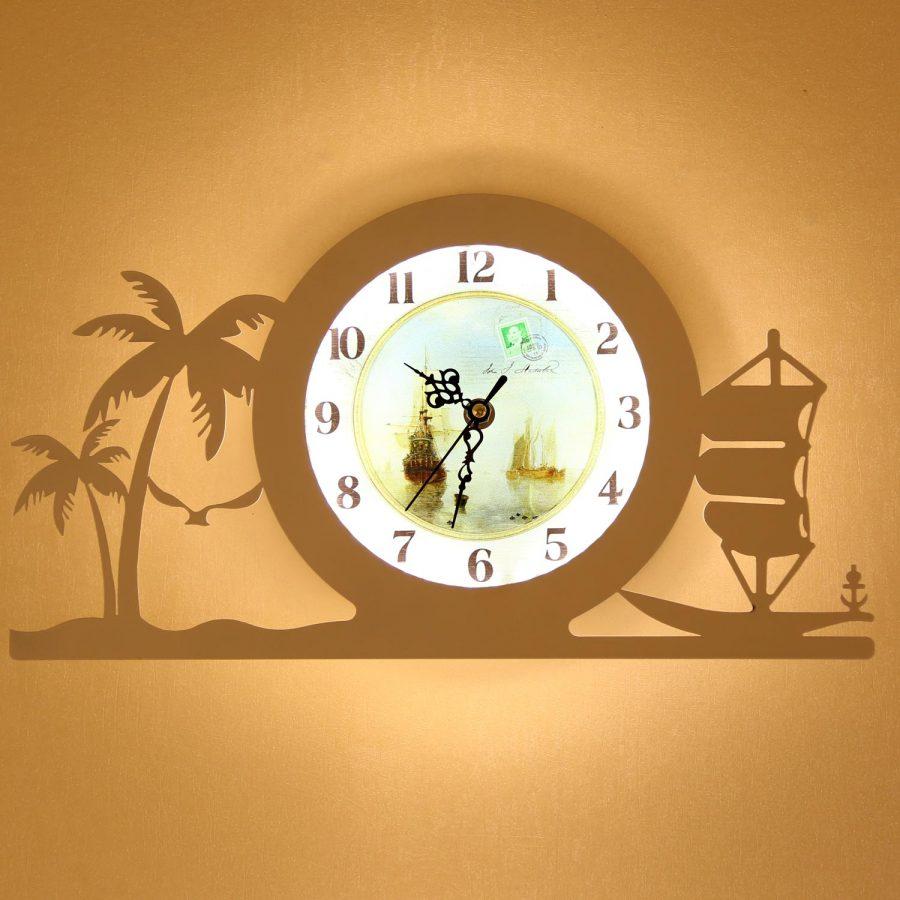 Đèn gắn tường LED đồng hồ Venus KD0130709