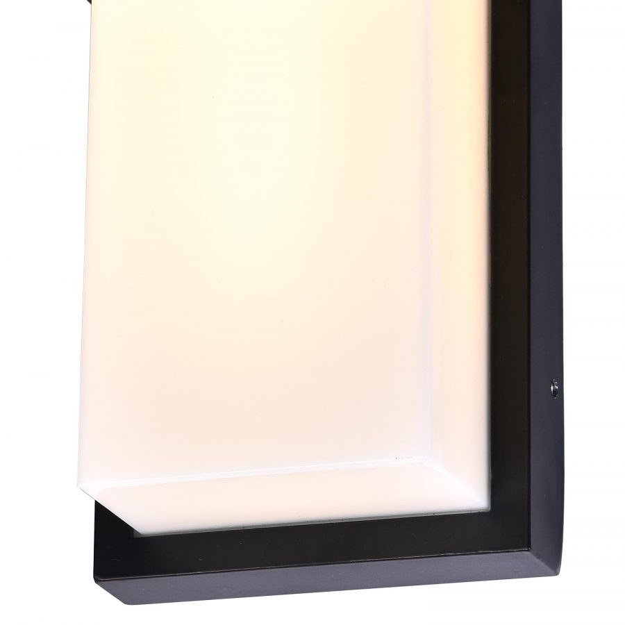 Đèn vách tường LED ngoài trời hình chữ nhật Venus 2601