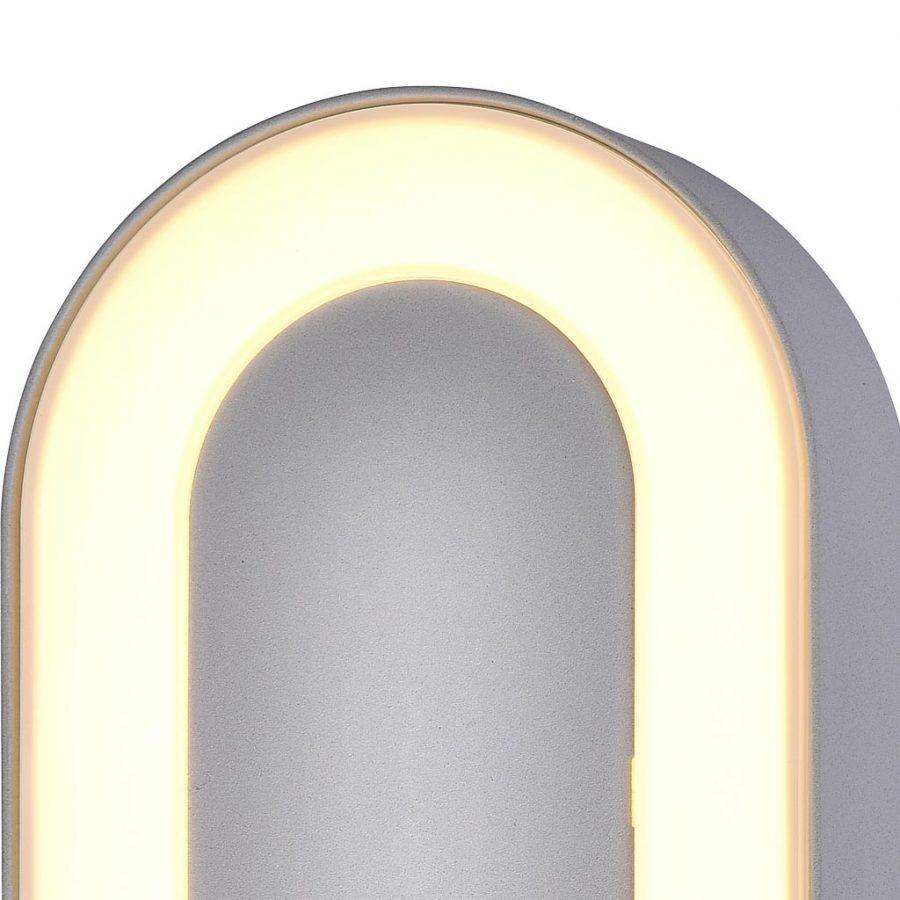Đèn vách tường LED ngoài trời hình bầu dục Venus 2804