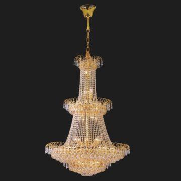 Đèn chùm pha lê phong cách cổ điển 2 tầng Venus 3132/1200mm