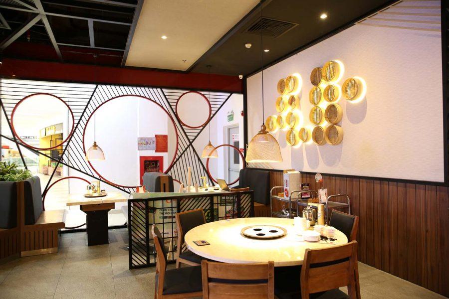 Đèn trang trí cho nhà hàng quán lẩu tại Sư Vạn Hạnh mall 11 Sư Vạn Hạnh Tp.HCM