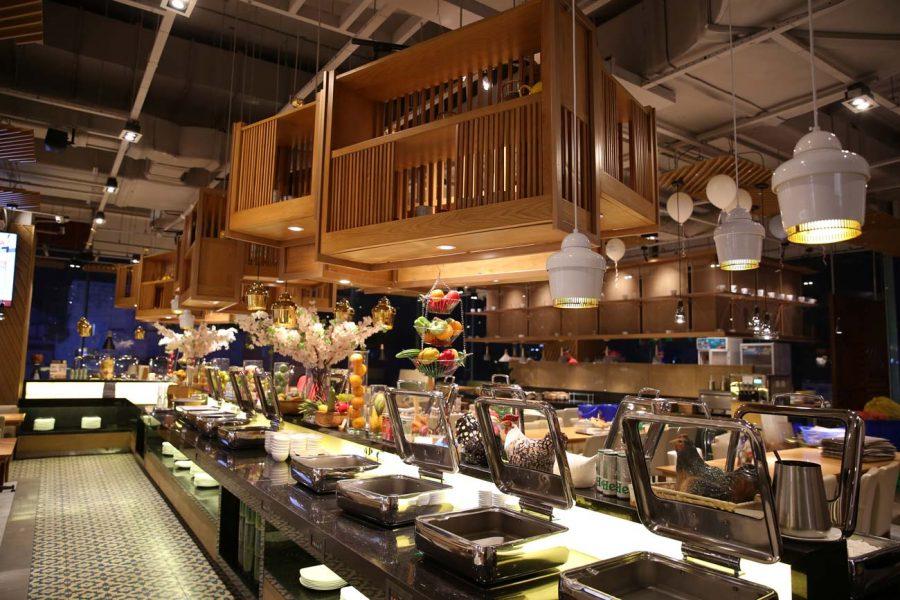 Đèn trang trí cho nhà hàng – Nhà hàng Hoàng Yến Tại Sư Vạn Hạnh mall – Số 11 Sư Vạn Hạnh quận 11 Tp.HCM