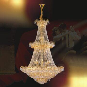 Đèn chùm pha lê – đèn chùm kiểu Ý Venus 3138