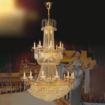 Đèn chùm pha lê - đèn chùm nhập khẩu Châu Âu Venus 8802