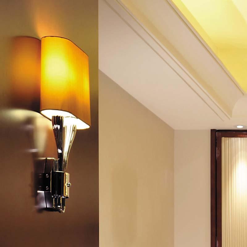 đèn tường trang trí đẹp phòng khách