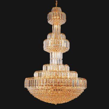 Đèn chùm pha lê lâu đài Địa Trung Hải Venus 8086
