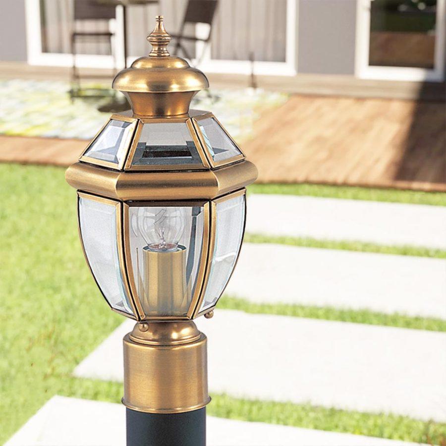 Đèn cây sân vườn Đồng phong cách hoàng gia Venus 500014-01