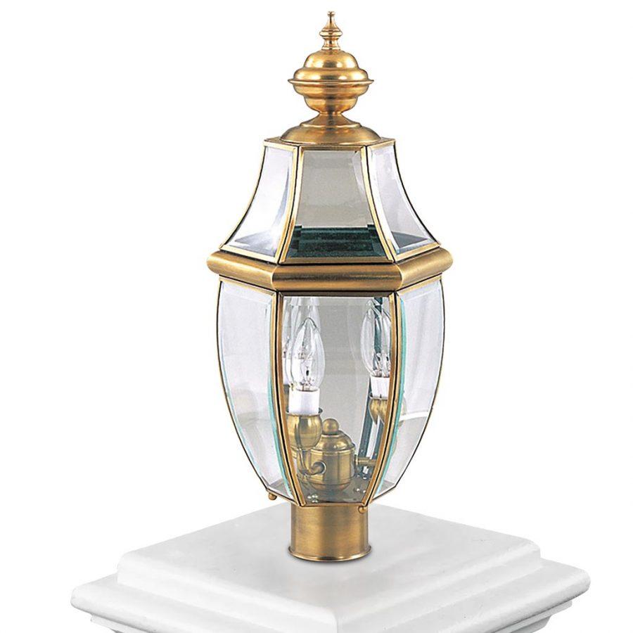 Đèn cây sân vườn Đồng kiểu biệt thự Châu Âu Venus 500014-03