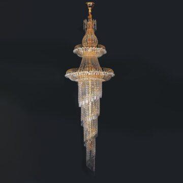 Đèn chùm pha lê Tây Ban Nha hình xoắn óc Venus 5043