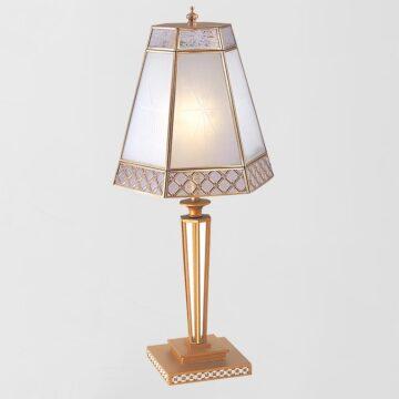 Đèn bàn đồng trang trí để sofa phòng khách Venus 600037-01