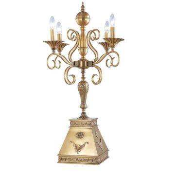 Đèn ngủ để bàn đồng bóng ngọn nến cổ điển Venus 600147-04