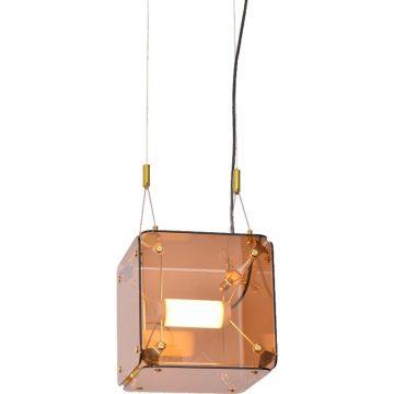 Đèn thả trần thủy tinh hiện đại ô vuông Venus MD2026-1