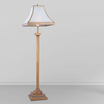 Đèn cây đồng phòng khách chụp thủy tinh châu Âu cổ điển Venus 700030-01