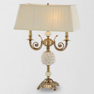 Đèn bàn đồng trang trí Cổ điển châu Âu cao cấp Venus 96010B-02