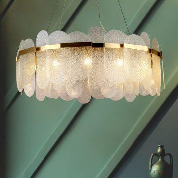 Đèn thả trần trang trí chùm pha lê hiện đại Venus MD7098