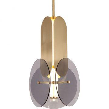 Đèn thả trần trang trí thủy tinh & sắt nghệ thuật độc đáo Venus MD8933-1