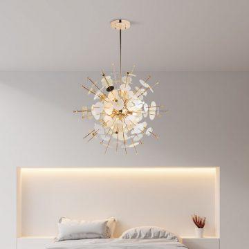 Đèn thả trần trang trí chùm hoa sắt nghệ thuật hiện đại Venus MD1072-5