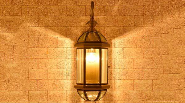 đèn tường ngoài trời venus 0527