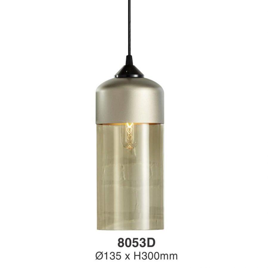 Đèn thả bàn ăn thủy tinh hiện đại Venus 8053