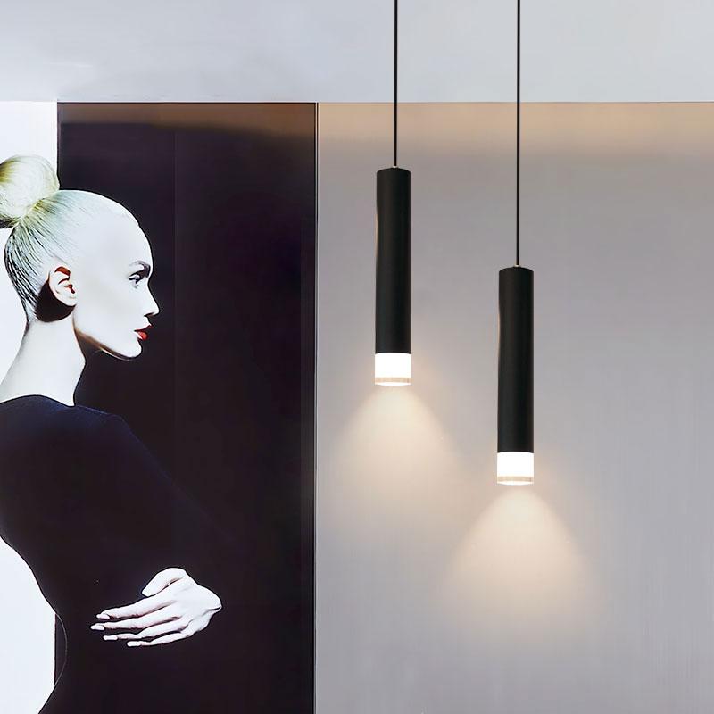 """Các mẫu đèn thả trang trí dạng """"Ống bơ"""" kim loại"""