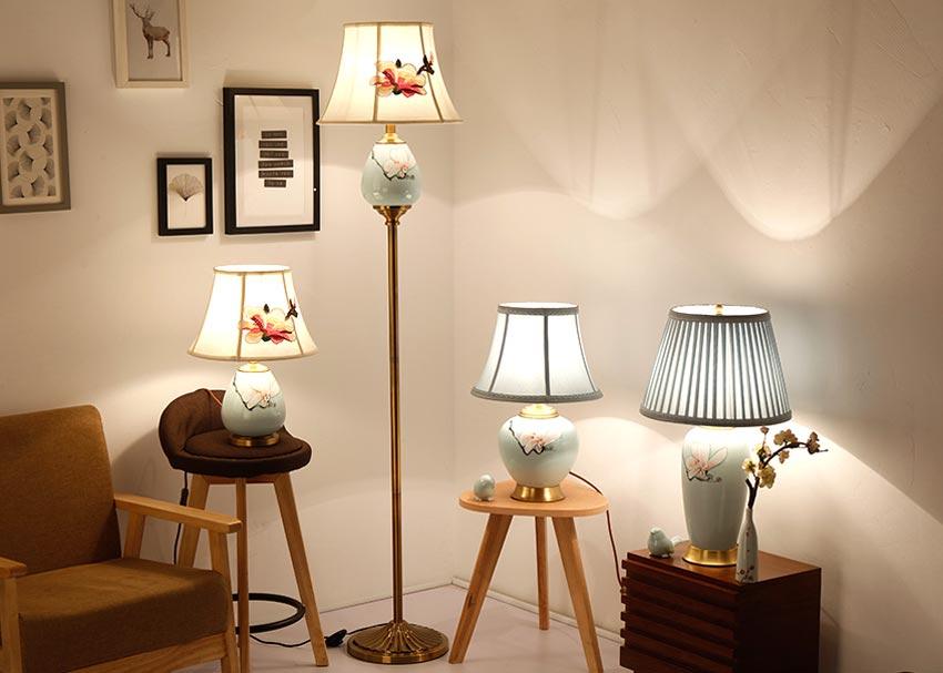 đèn bàn phòng ngủ cao cấp