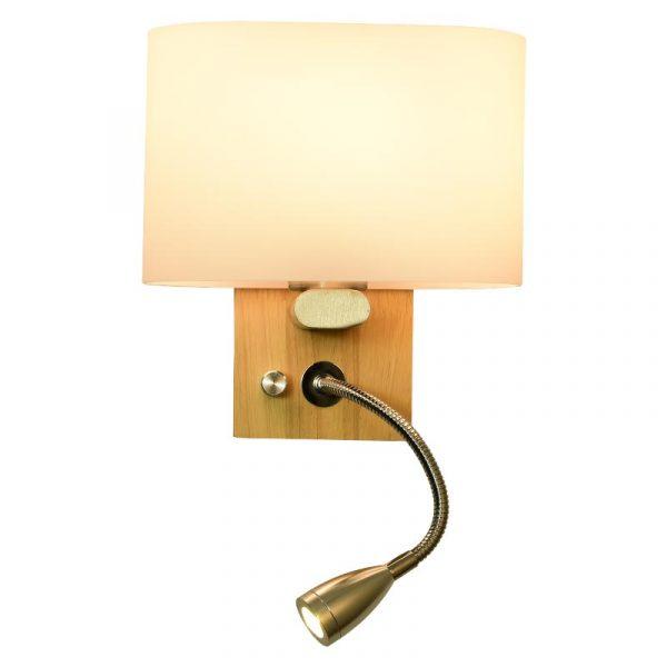 Đèn gắn tường đầu giường ngủ chân gỗ CL8822