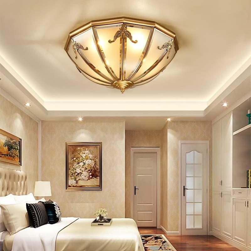 đèn âm trần và hắt trần phòng ngủ