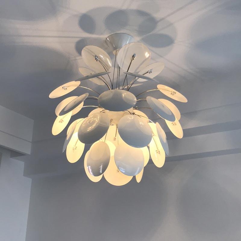 Đèn thả lá sắt nghệ thuật Venus