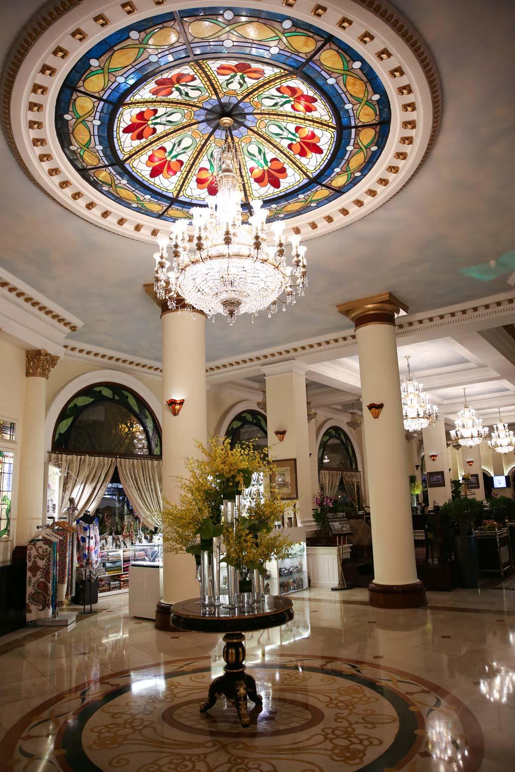 Không gian khách sạn Majestic Sài Gòn.