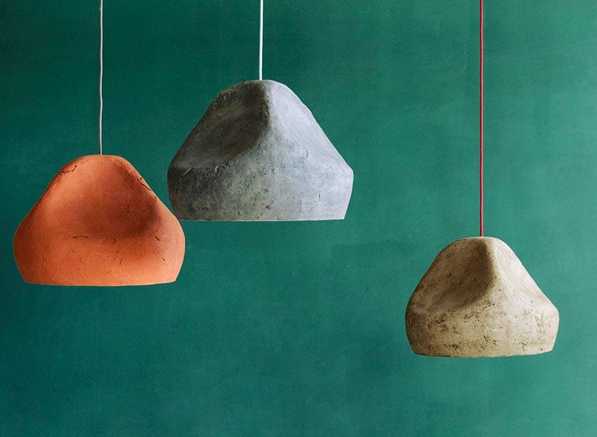 """đèn thả trang trí nghệ thuật bằng giấy """"Sensi"""""""