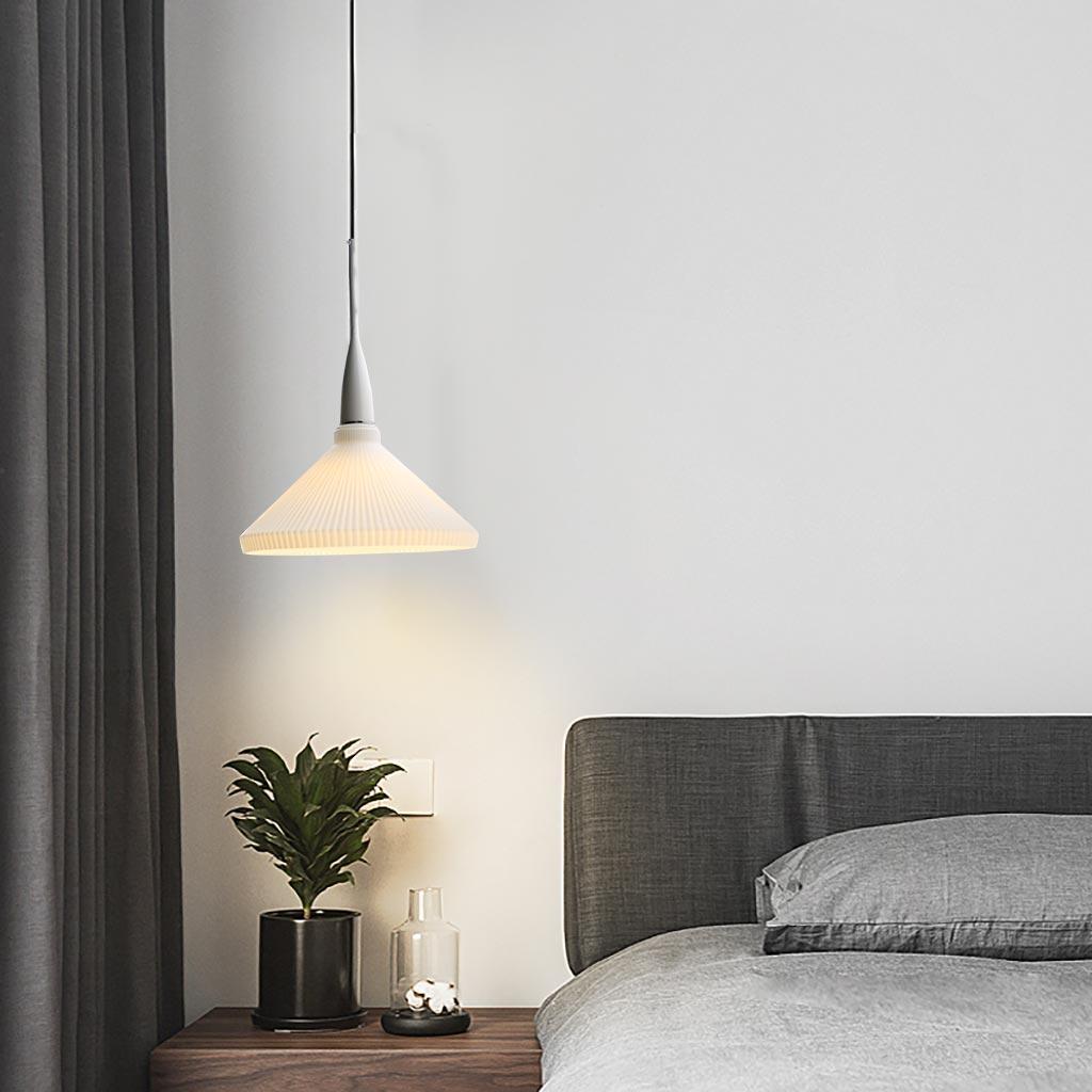 đèn thả đầu giường phòng ngủ
